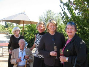 - Wine Country Concierge Founder and legendary Concierge, Jackie Richmond carefully selected a successor for Wine Country Concierge, Ania Gatto.  Her legacy and philosophy of un-paralleled service will remain a cornerstone of Wine Country Concierge. Jackie Richmond, pictured far right with Martha Stewart and Robert & Margrit Mondavi.