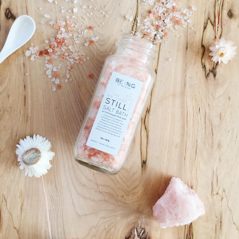 Still Salt Bath ~ Being