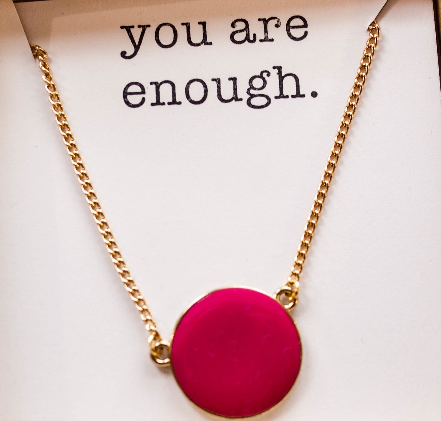 Gratitude Necklace ~ Compliment