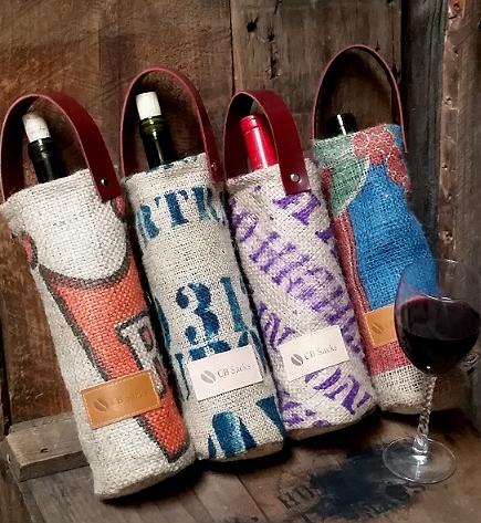 Wine Tote ~ CB Sacks