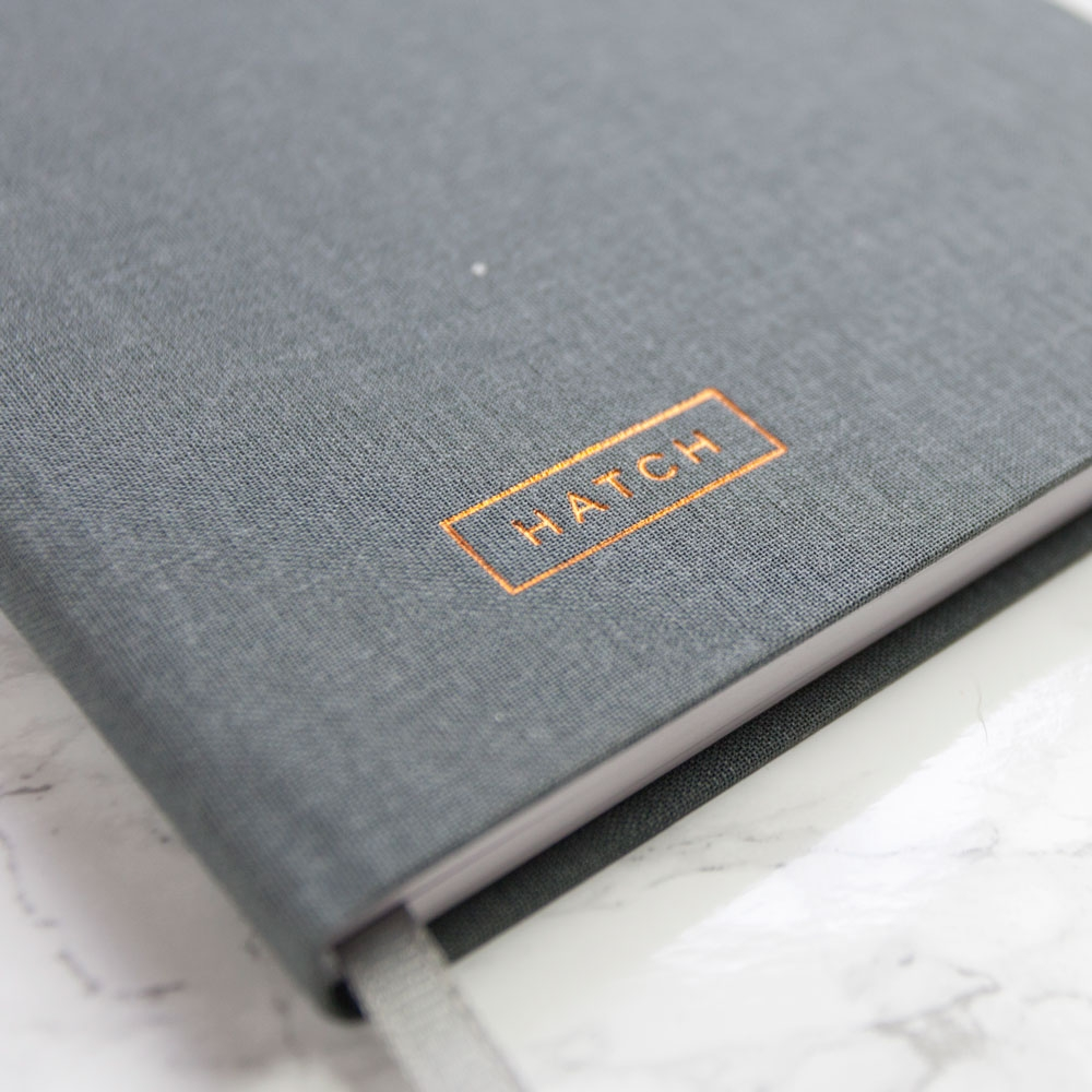 Two Tumbleweeds Hatch Notebook ($25)