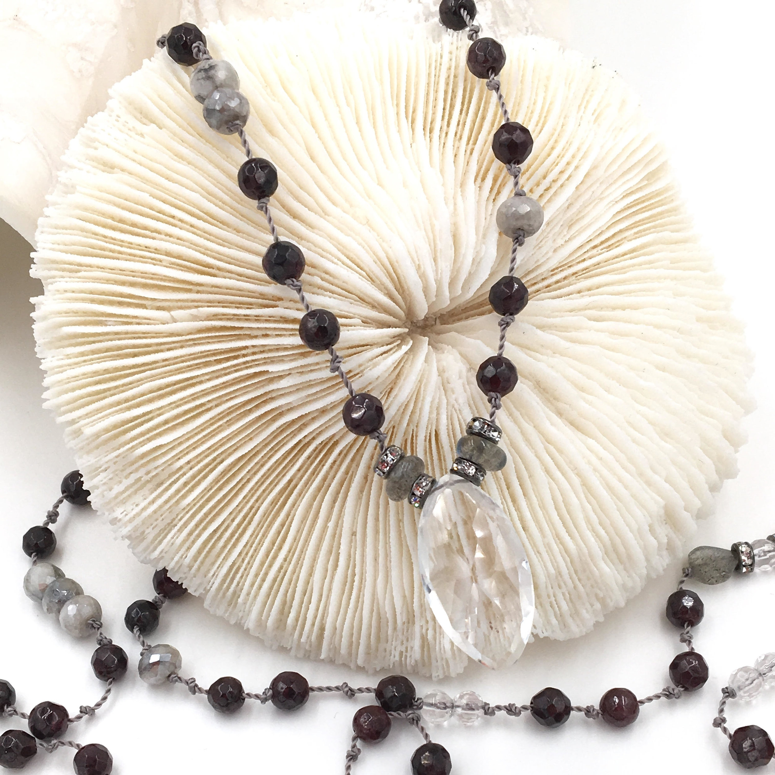 Quartz Necklace, Karma Malas