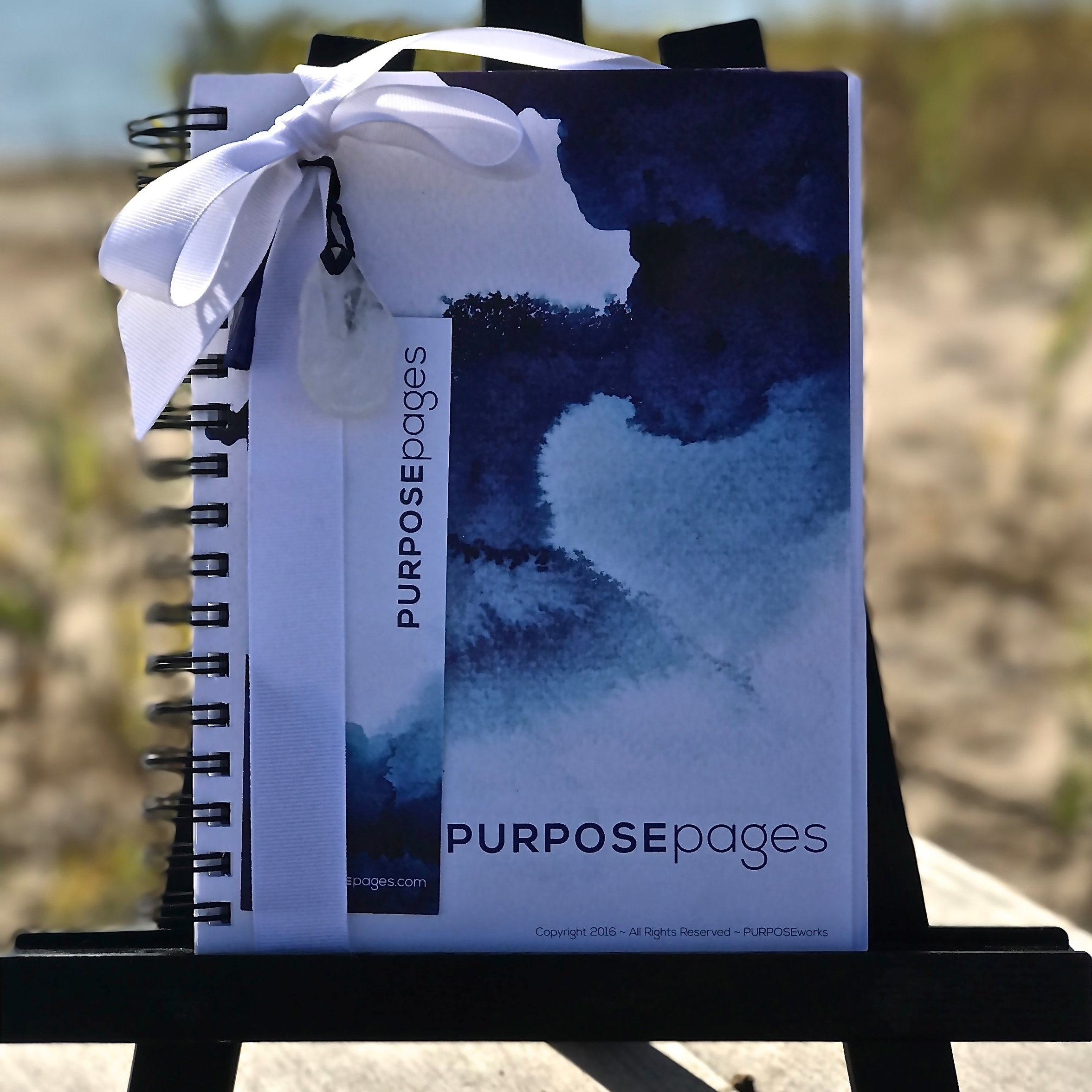 Creative Journal, PURPOSE Pages