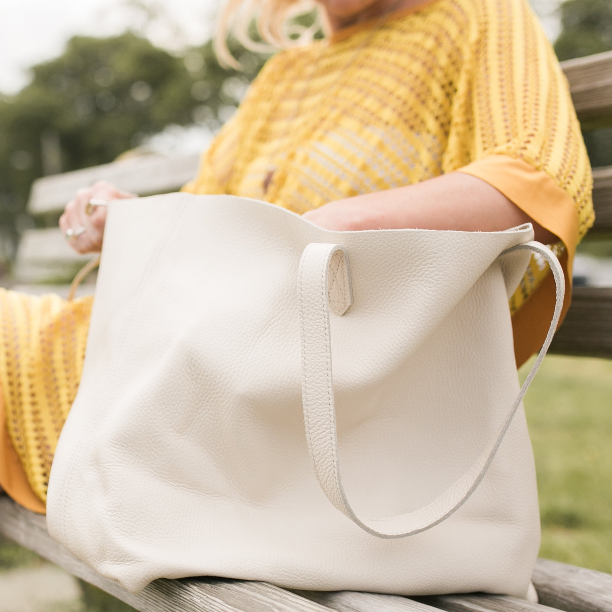 Leather Tote, Cuyana