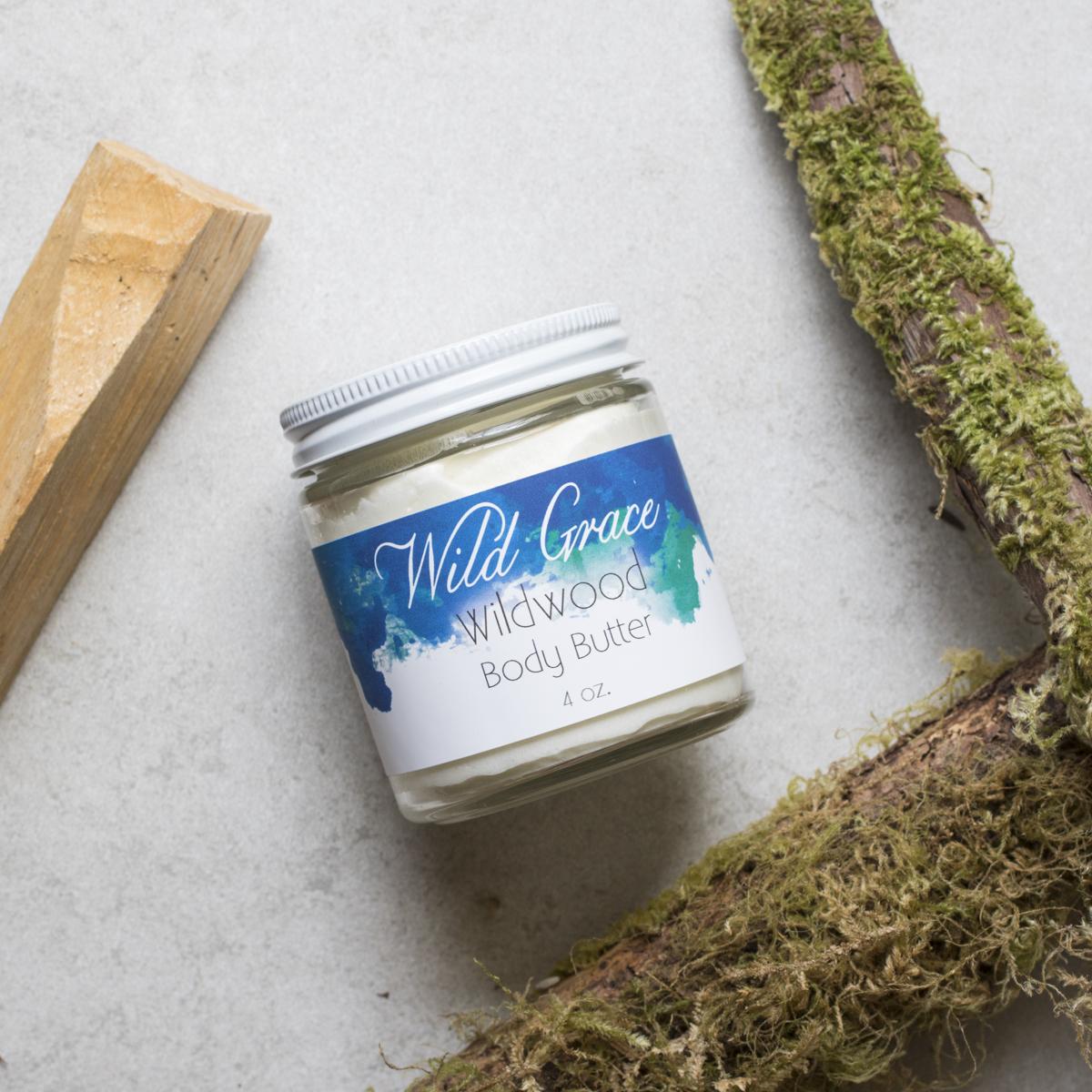 Wildwood Body Butter, Wild Grace