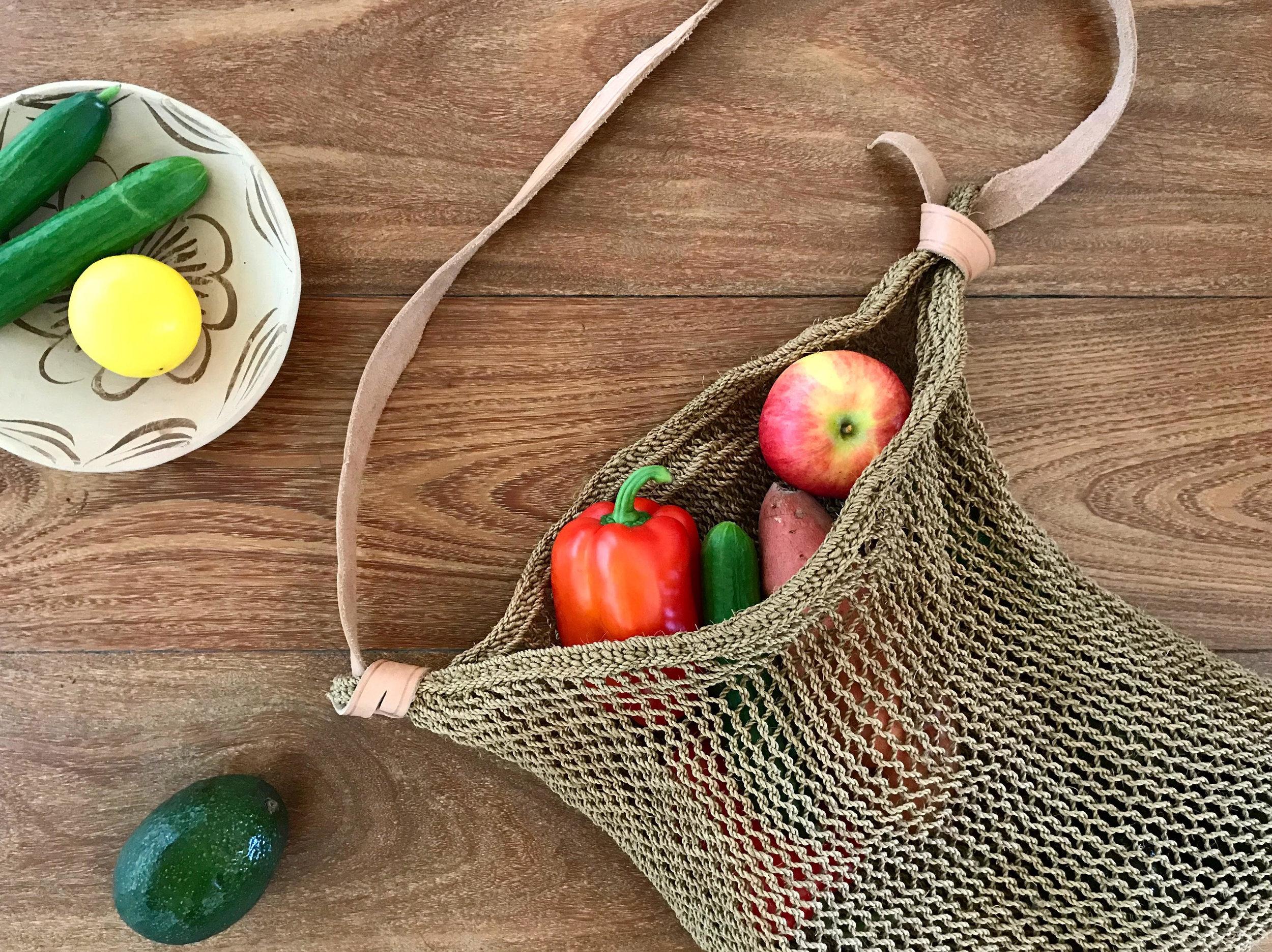 Handwoven Market Bag, Shop Materia