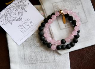 Mom & Me Bracelets (Crunchy Diva)