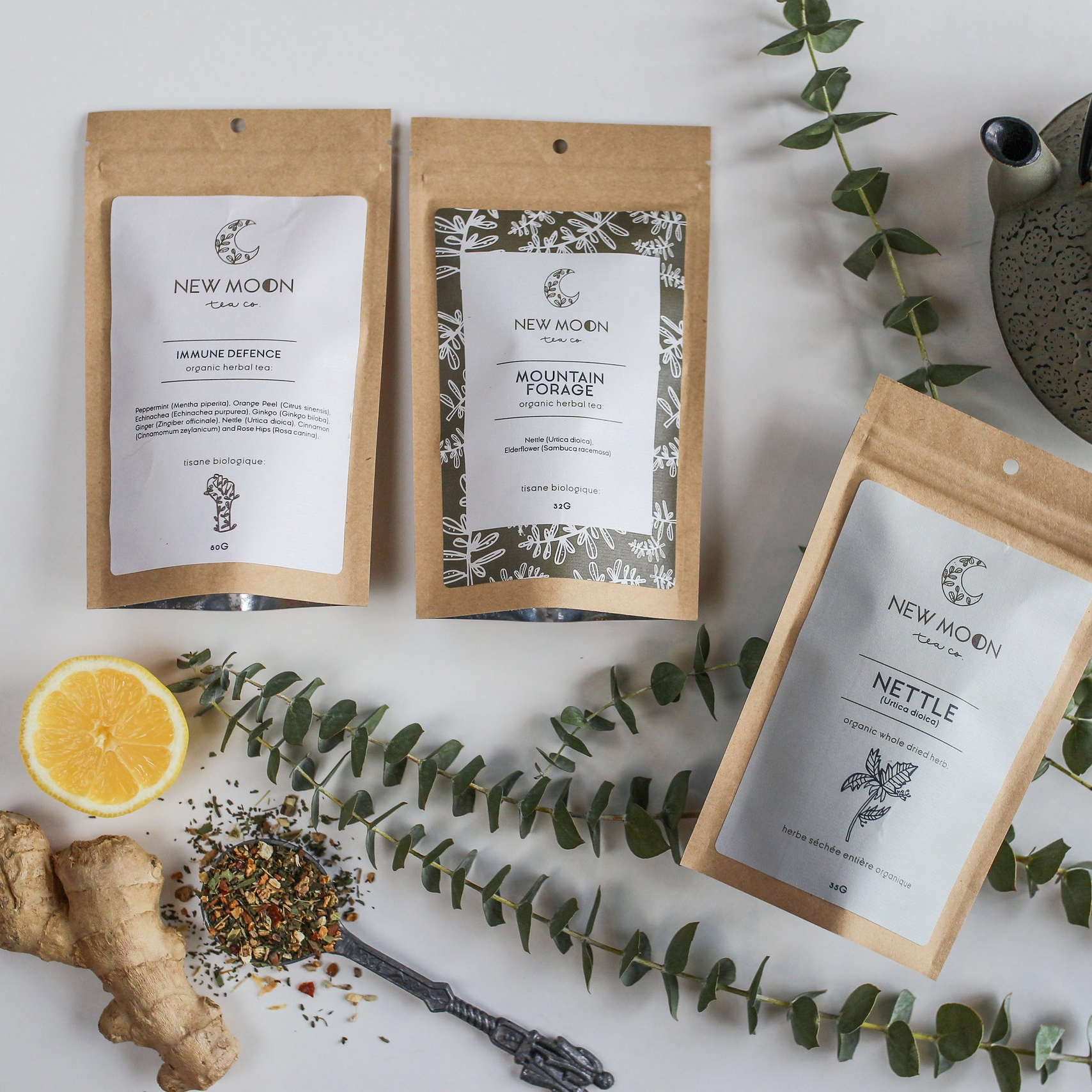 Tea Lover Gift Box (New Moon Tea)