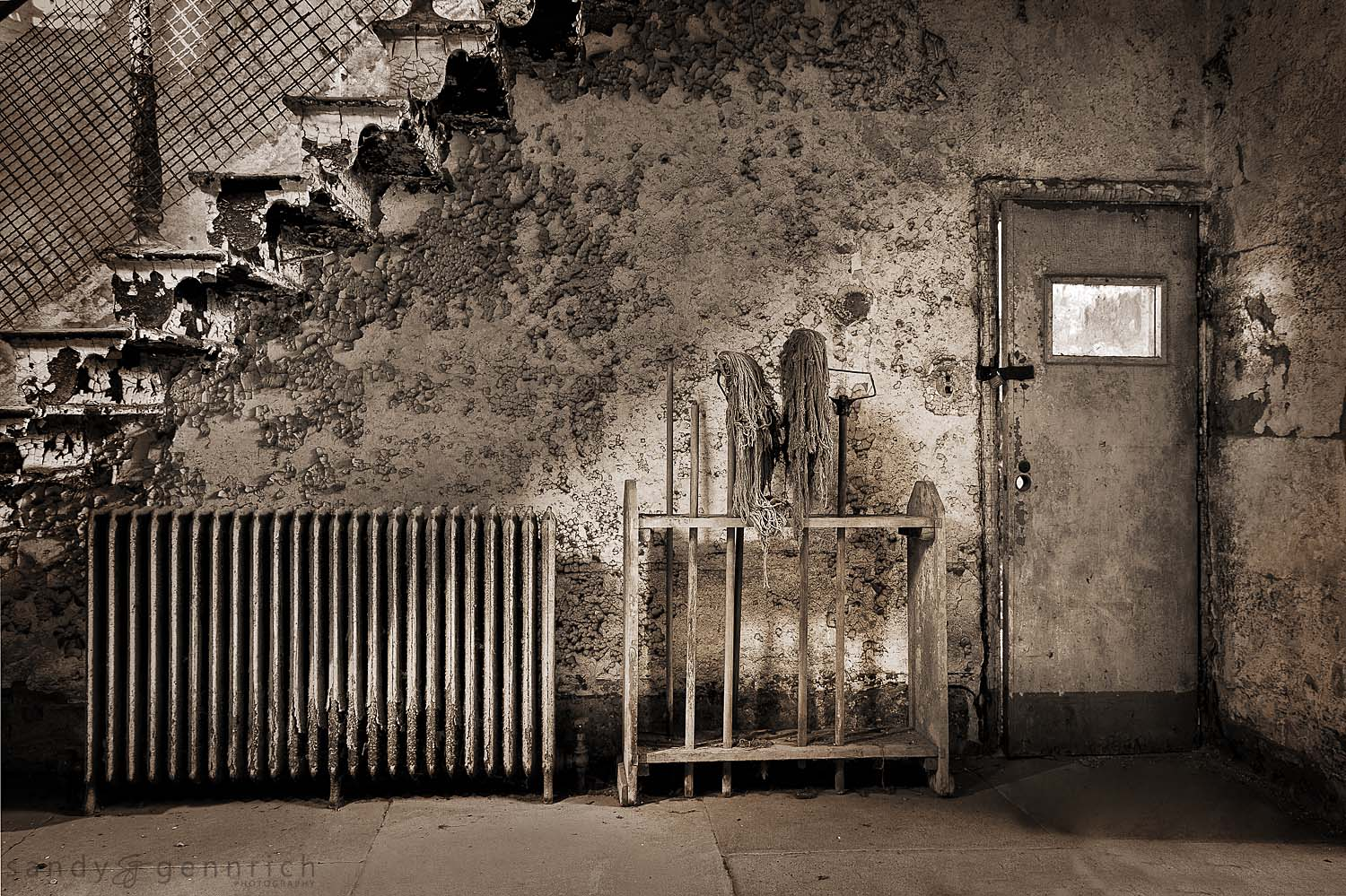 Under the Stairs - Eastern State Penitentiary - Philadelphia, PA