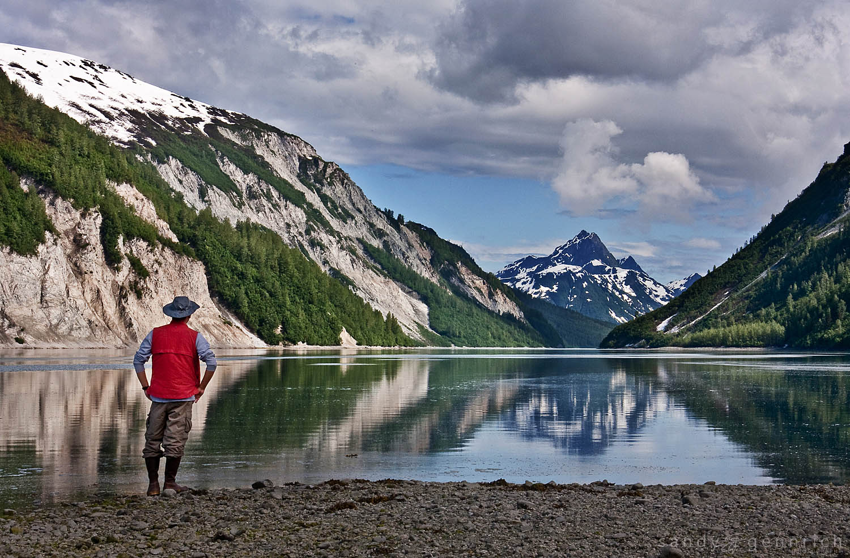 Reflecting on the Day - Glacier Bay National Park - Alaska