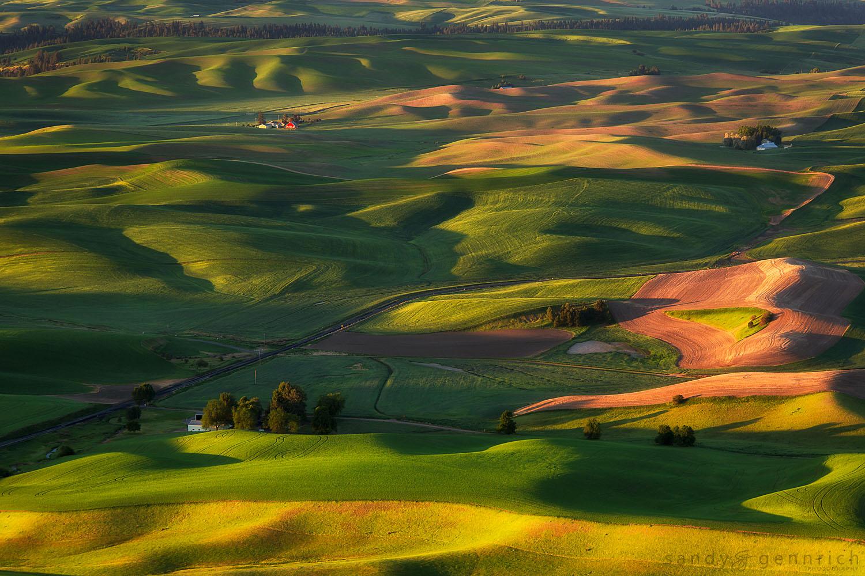 Good Morning America - Steptoe Butte - Palouse - WA