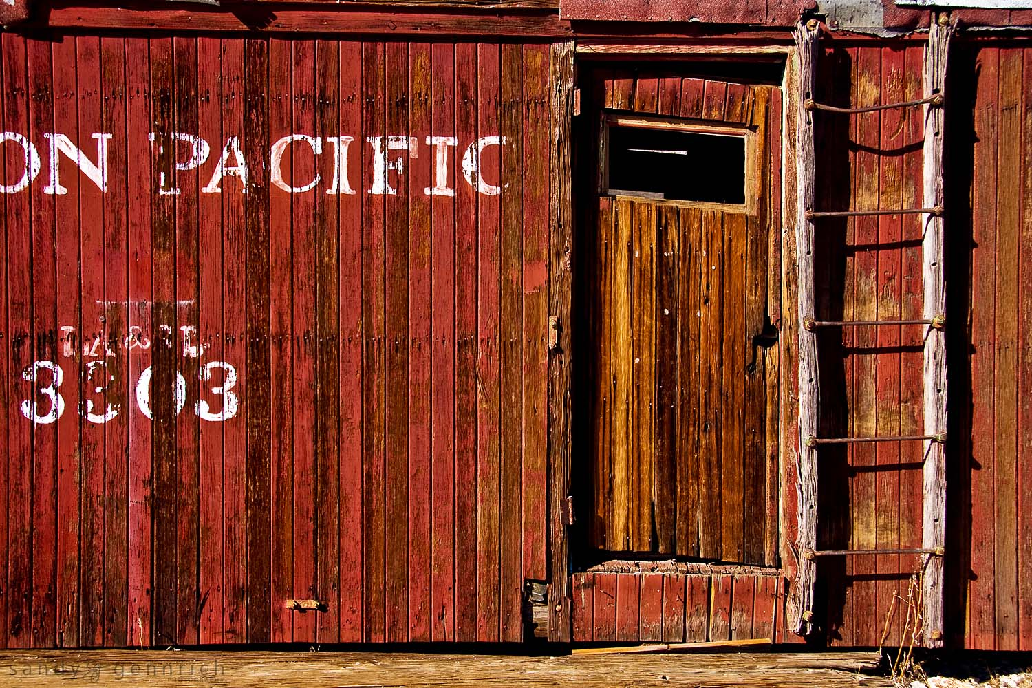 Union Pacific - Rhyolite Ghost Town - Death Valley - NV