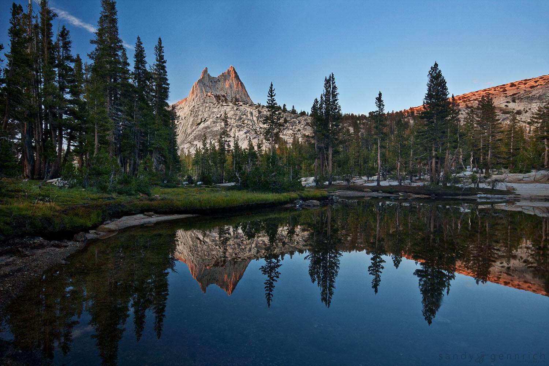 Upper Cathedral Lake-Yosemite National Park-CA