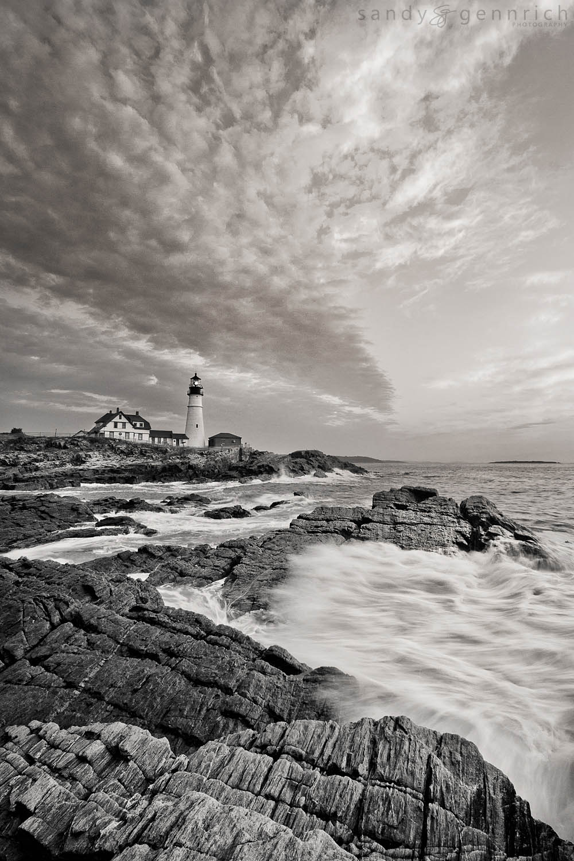 Forces of Nature-Portland Head Lighthouse-Cape Elizabeth-ME