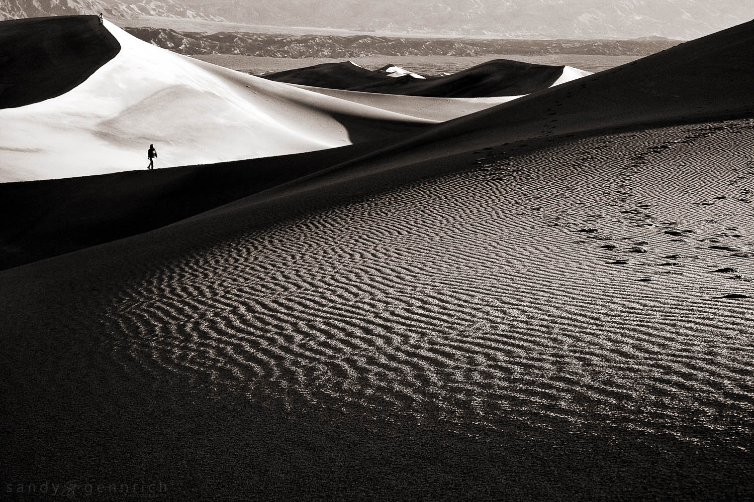 Dune Walking-Death Valley National Park