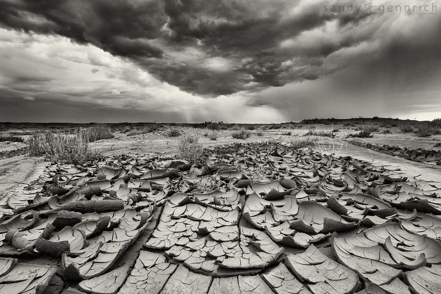 Monsoon Season - Bisti Badlands - Farrmington NM