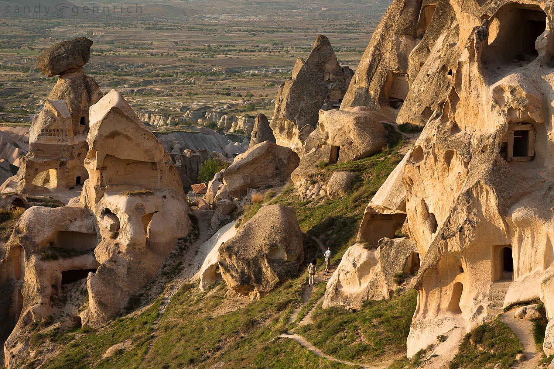 Walking Among the Fairy Chimneys - Uchisar - Nevshehir - Turkey