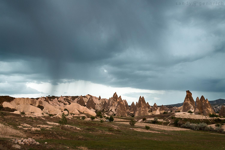 The Passing Storm - Cappadocia - Goreme - Turkey
