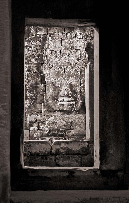 Doorways to Bayon Temple - Angkor Thom - Cambodia