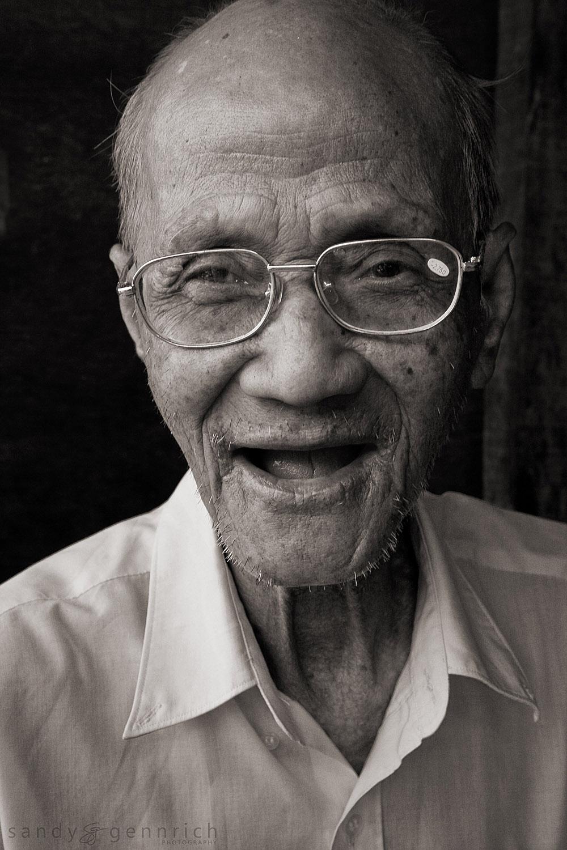 Elderly Man - Siem Reap - Cambodia