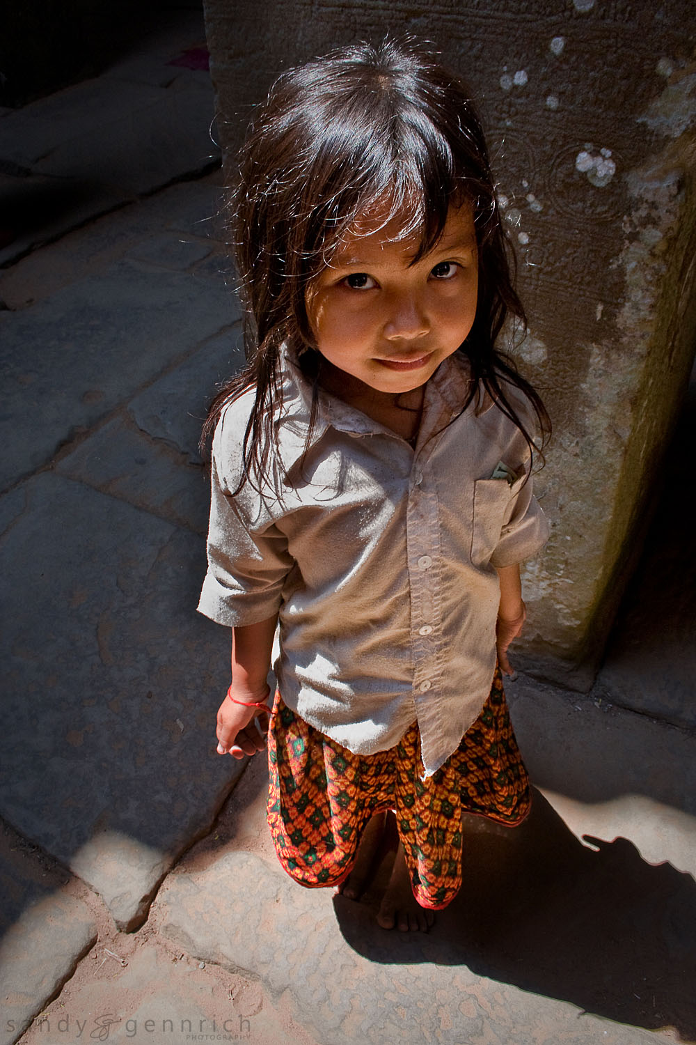 Five - Cambodian Girl