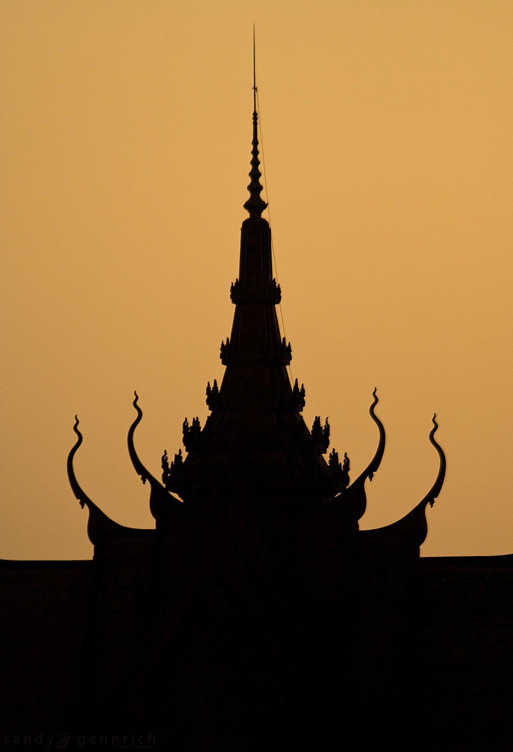 Royal Palace Silhouette