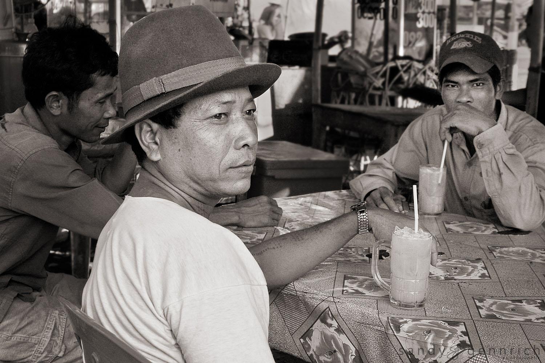 Sugar Cane Juice Break - Siem Reap - Cambodia