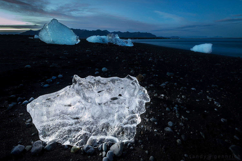 Alien Invasion - Jokulsarlon - Iceland