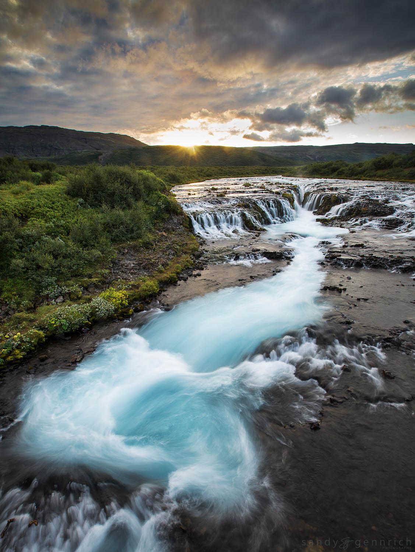 Turquoise Turbulence - Bruarfoss - Fludir - Iceland