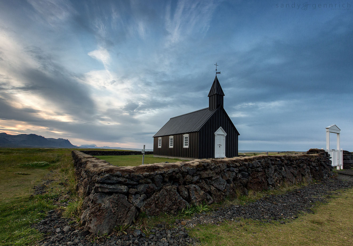 The Black Church-20120825-35026-40D-Iceland-Budir