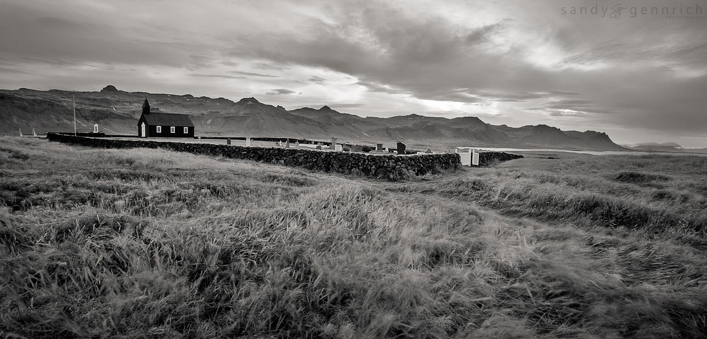 Windswept Resting Place - Budir - Iceland