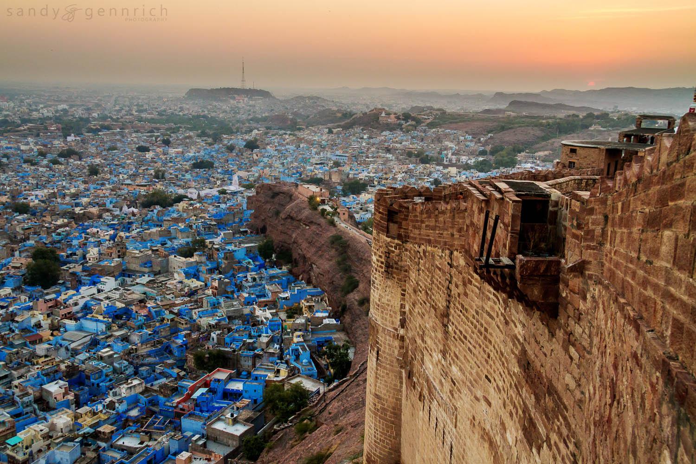 Mehrangarh Fort - Jodhpur - Rajasthan - India