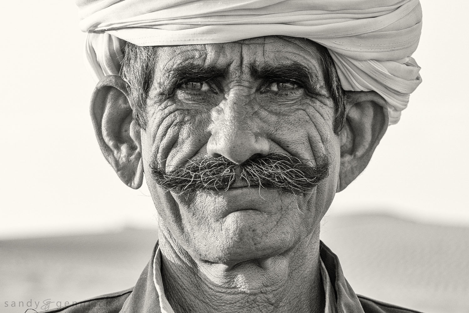 Portrait of Rajasthan-India