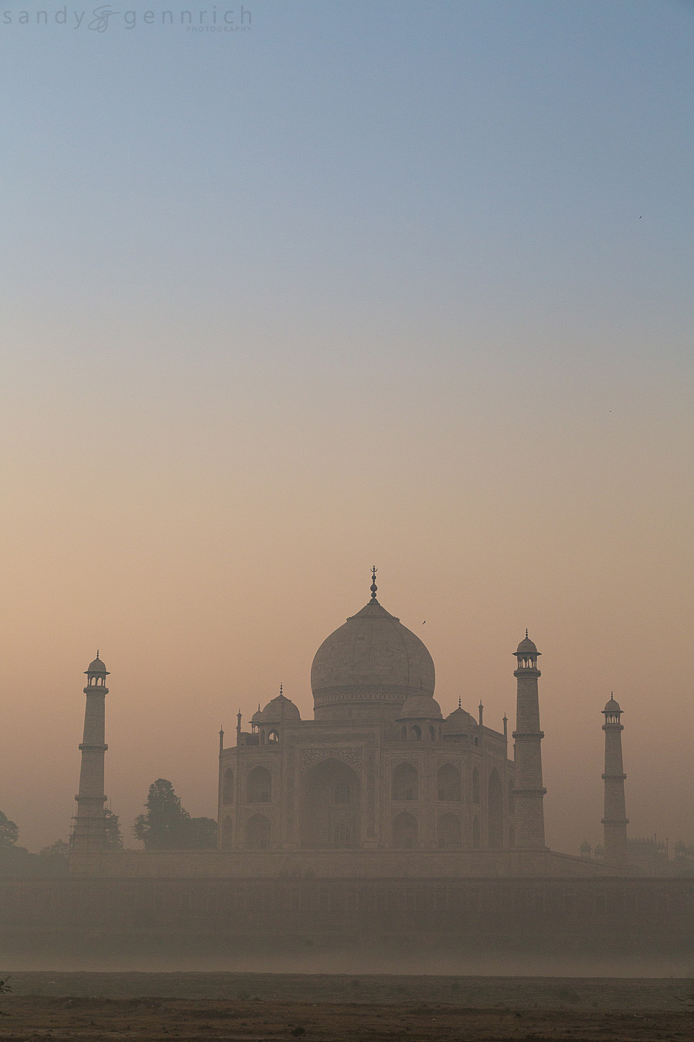Rising from the Mist-Agra-India