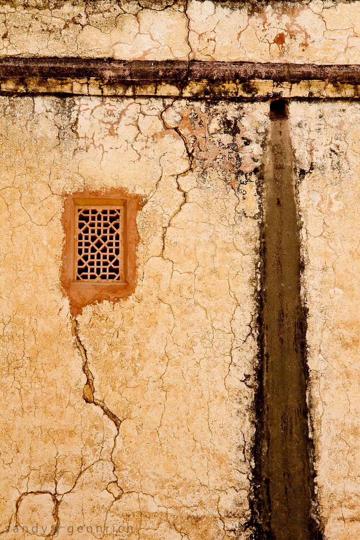 Veined Wall - Amber Fort - Jaipur - Rajastan - India