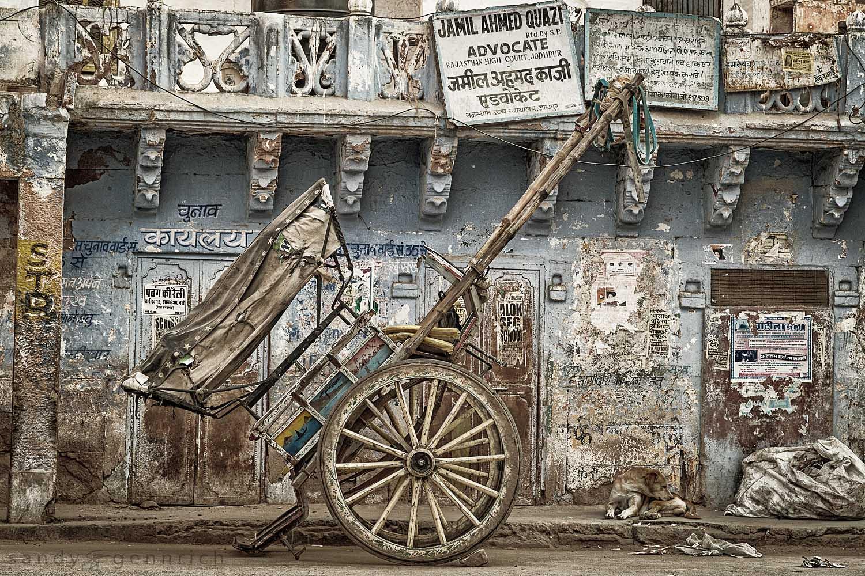 Worn-Jodhpur-Rajasthan-India