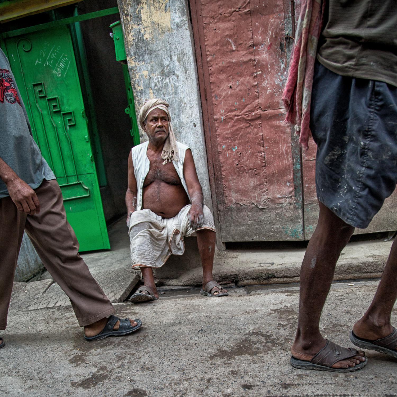 Man on the Street-Kolkata-Calcutta-India