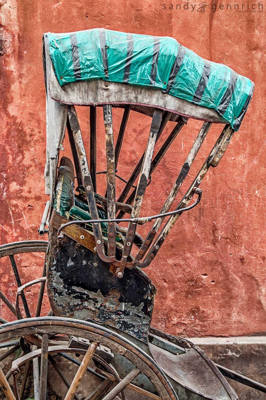 Old Rickshaw-Kolkata-Calcutta-India