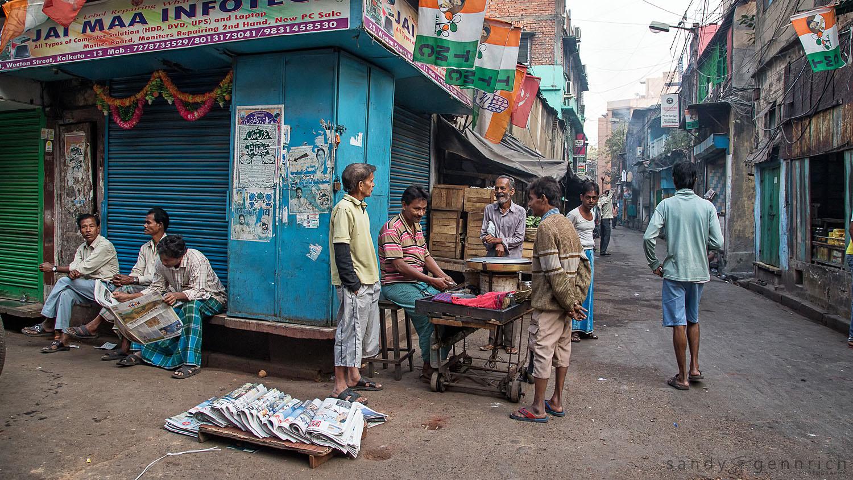 Sunday Morning-Kolkata-Calcutta-India