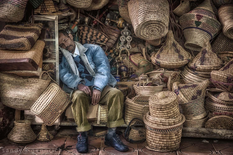 A Long Days Work-Marrakech-Morocco