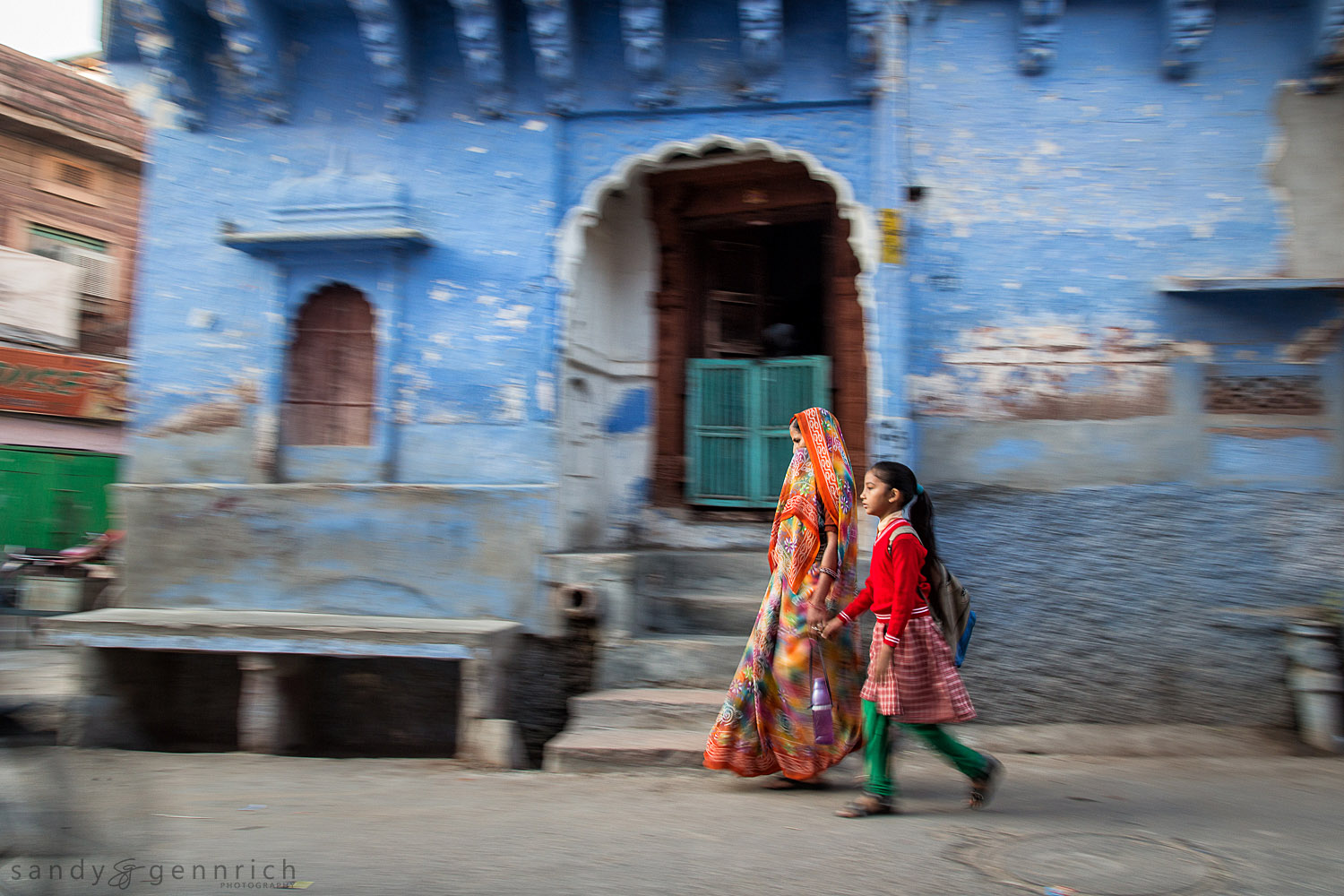 Going to School-India in Motion-Jodhpur-India