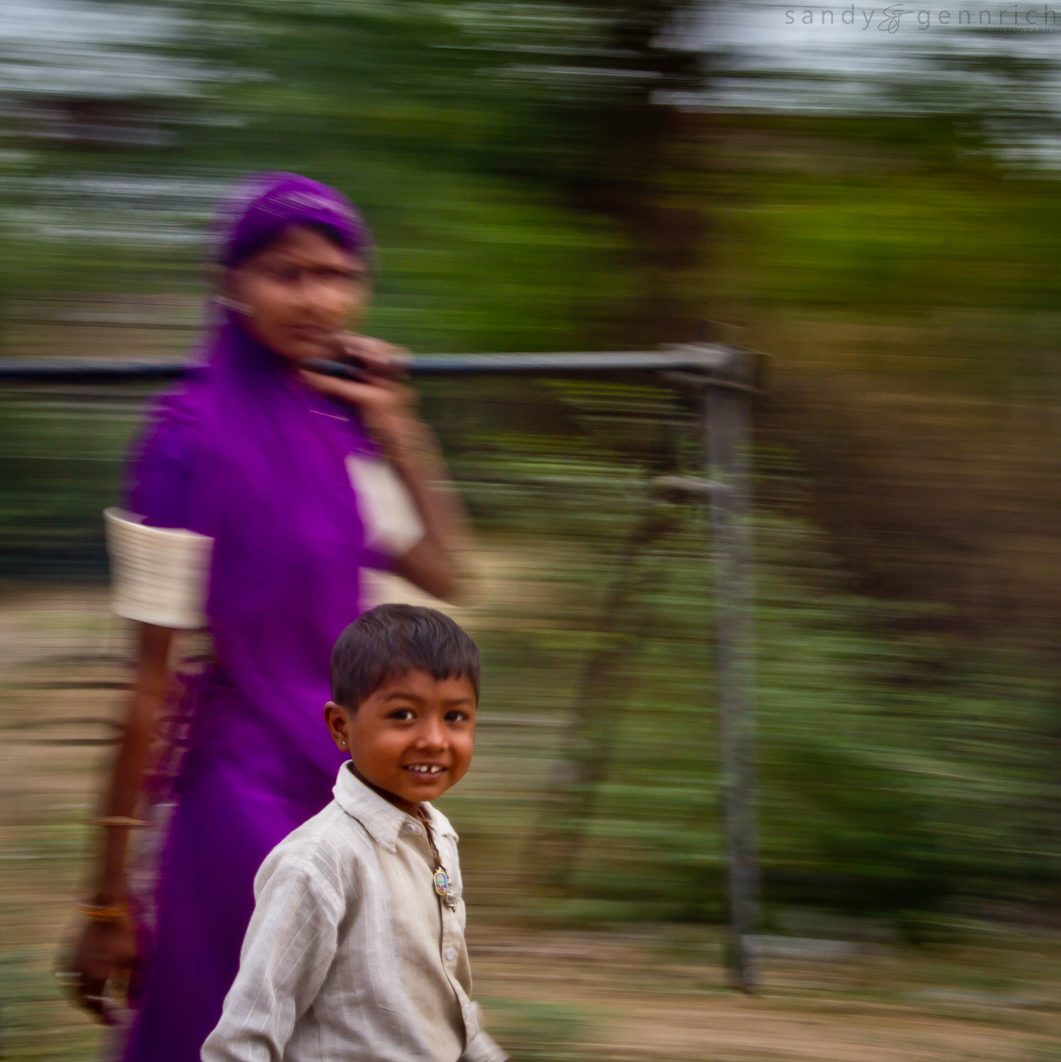 Happy Child - India In Motion - Rajastan - India
