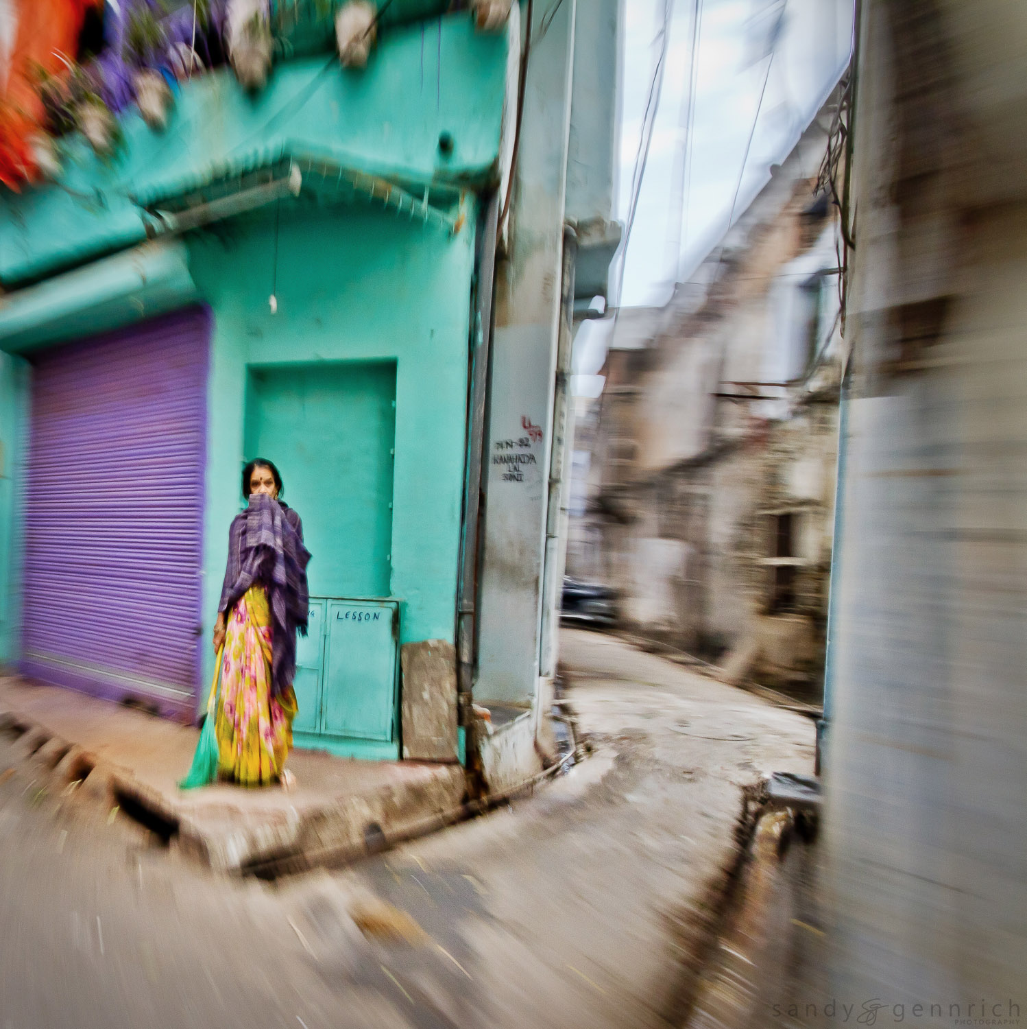On the Corner - India in Motion - Udaipur - India