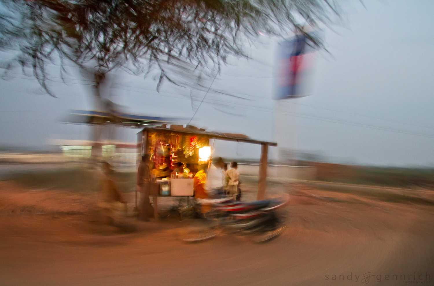 Roadside Stand - India in Motion - Jodhpur - India