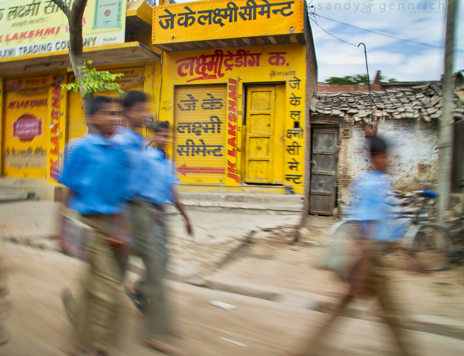 School Boys - India In Motion - Rural Rajastan - India