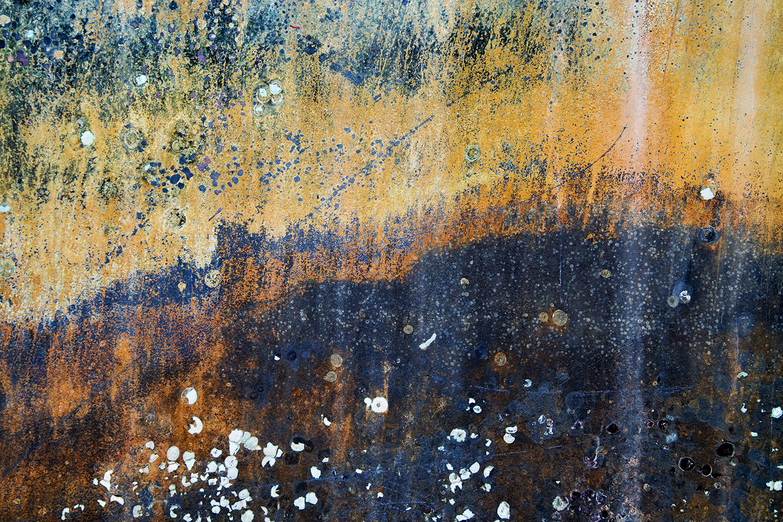 Dancing Aurora - Boat Abstract - Norwalk CT