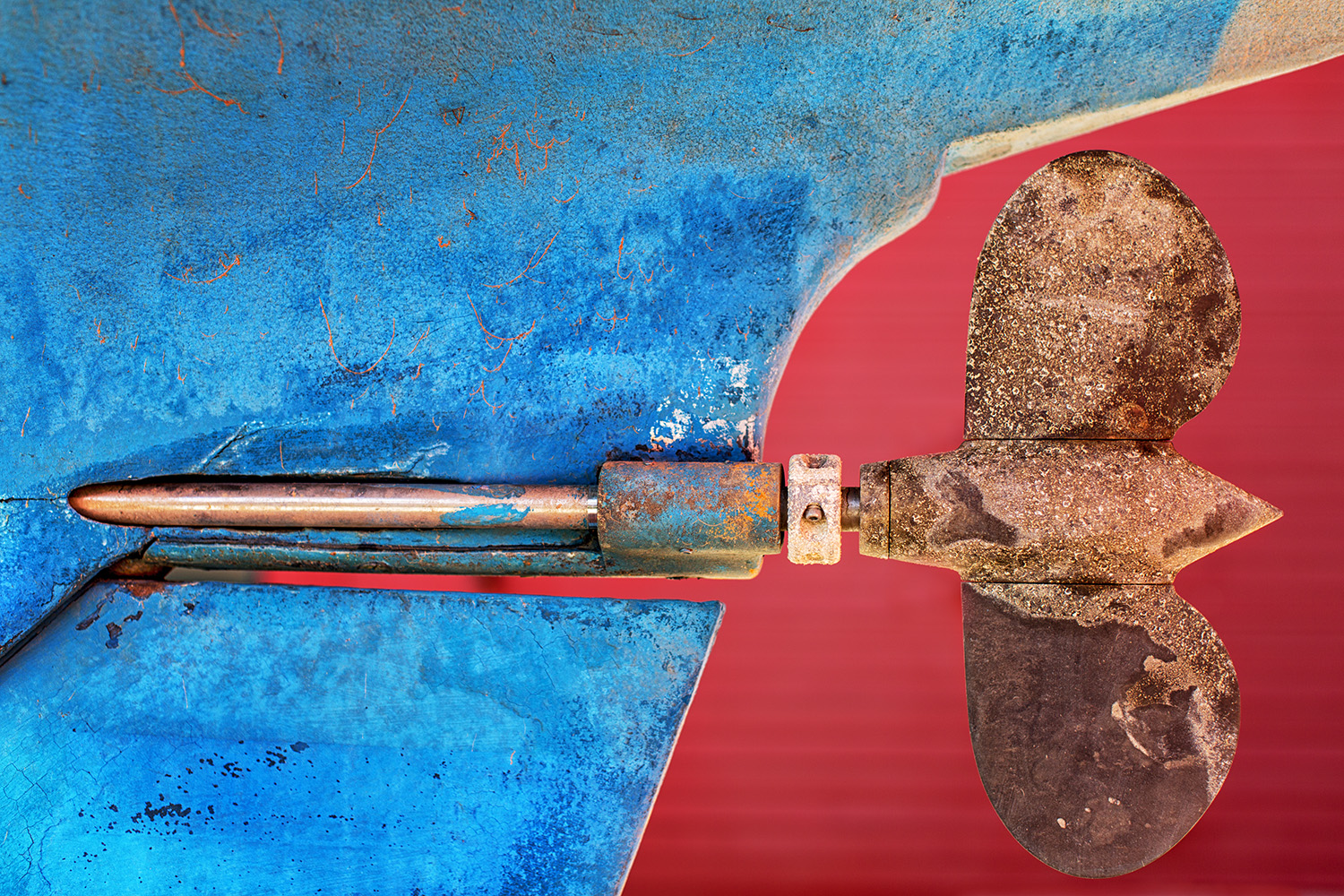 Penetrating-Boat Abstract-Rockport-Maine-ME