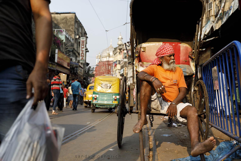 Chitpur Road-Kolkata-India