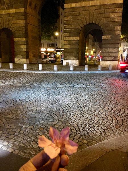 blurry Paris