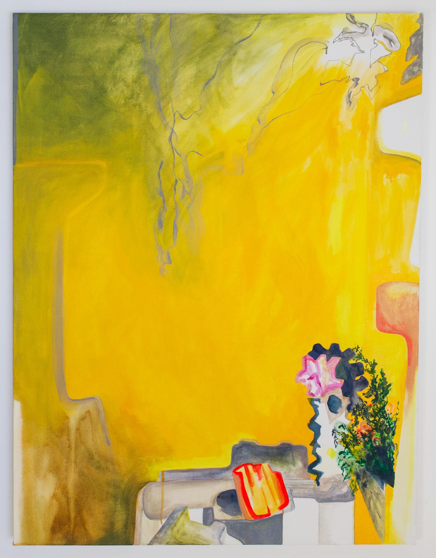 Plein Soleil Garden Painting Acrylic